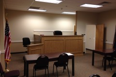 District court room