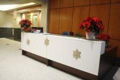 Main lobby reception desk