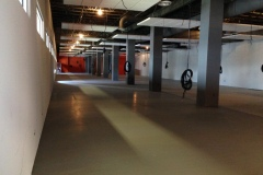 Floor leveling of office area