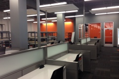 Completed office space