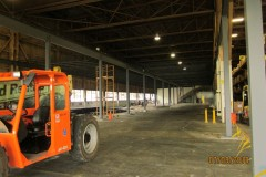 Structural mezzanine steel