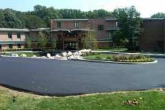 Completed Porte-Cochere and Driveway