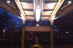 Completed Porte-Cochere