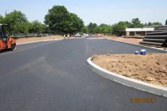 New parking lot