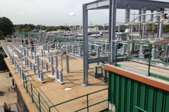 Rooftop electrial busway