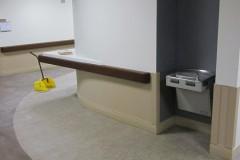 Corridor outside of 3rd floor nurses station