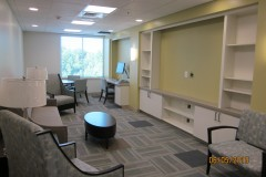 3rd floor visitor's waiting room