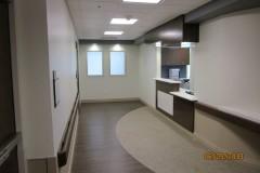 3rd floor elevator entrance and nurses station