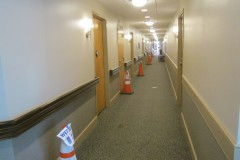 Corridor renovation progress