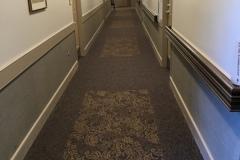 Renovated corridor