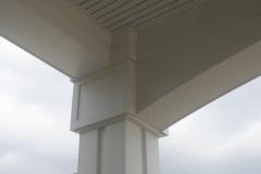 Porte-cochere PVC column