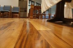 Tiger maple flooring