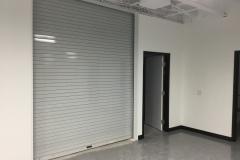 Roll-up door to warehouse