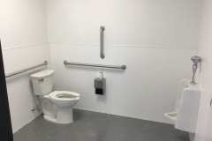 Production area restroom