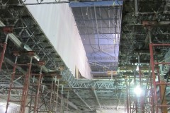 Escalator opening and shoring